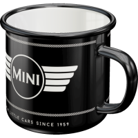 "Emailie-Becher ""MINI Logo"" - Kaffeebecher"
