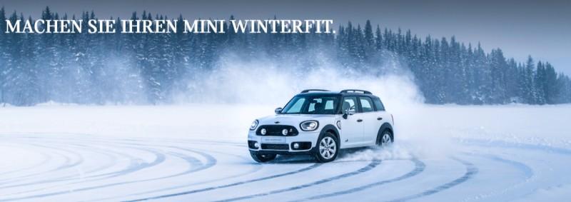 Original MINI Winter Zubehör