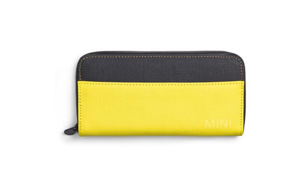 MINI Wallet Colour Block gelb/schwarz - Geldbörse - Portemonnaie
