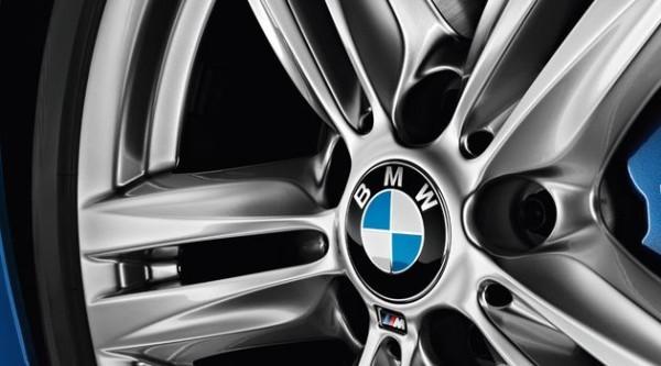 BMW Nabenabdeckung mit Chromrand - 2er F45 F46 / 5er G30 G31 / 7er G11 G12 / X1 F48