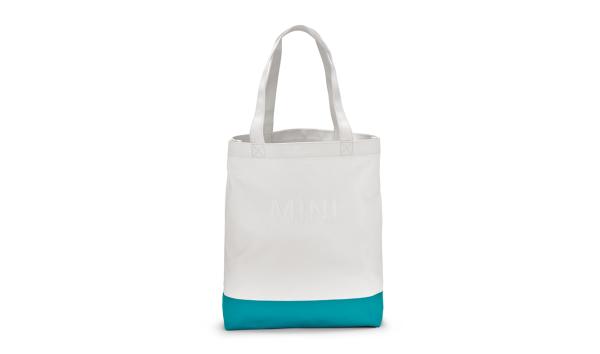 MINI Shopper Colour Block weiß / blau - Tasche