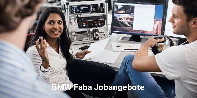 BMW Faba Jobangebote