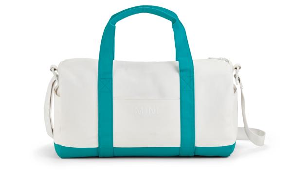 MINI Duffle Bag Colour Block weiß / blau - Tasche