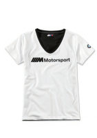 BMW M Motorsport T-Shirt Damen Logo