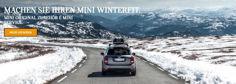 MINI Winter Zubehör