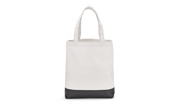 MINI Shopper Colour Block weiß / schwarz - Tasche