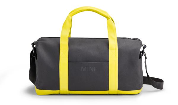 MINI Duffle Bag Colour Block schwarz / gelb - Tasche