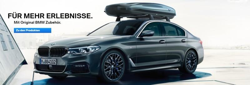 Original BMW Zubehör zu Traumpreisen.