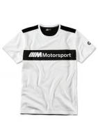 BMW M Motorsport T-Shirt Herren Logo