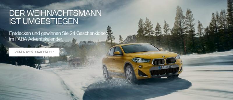 BMW FABA Adventskalender