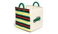 MINI Striped Toybox - Spielzeugbox