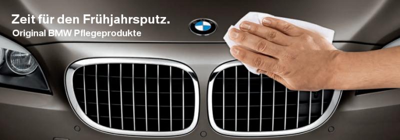 Original BMW Pflegeprodukte und Anwendungstipps