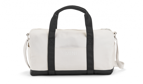 MINI Duffle Bag Colour Block weiß / schwarz - Tasche
