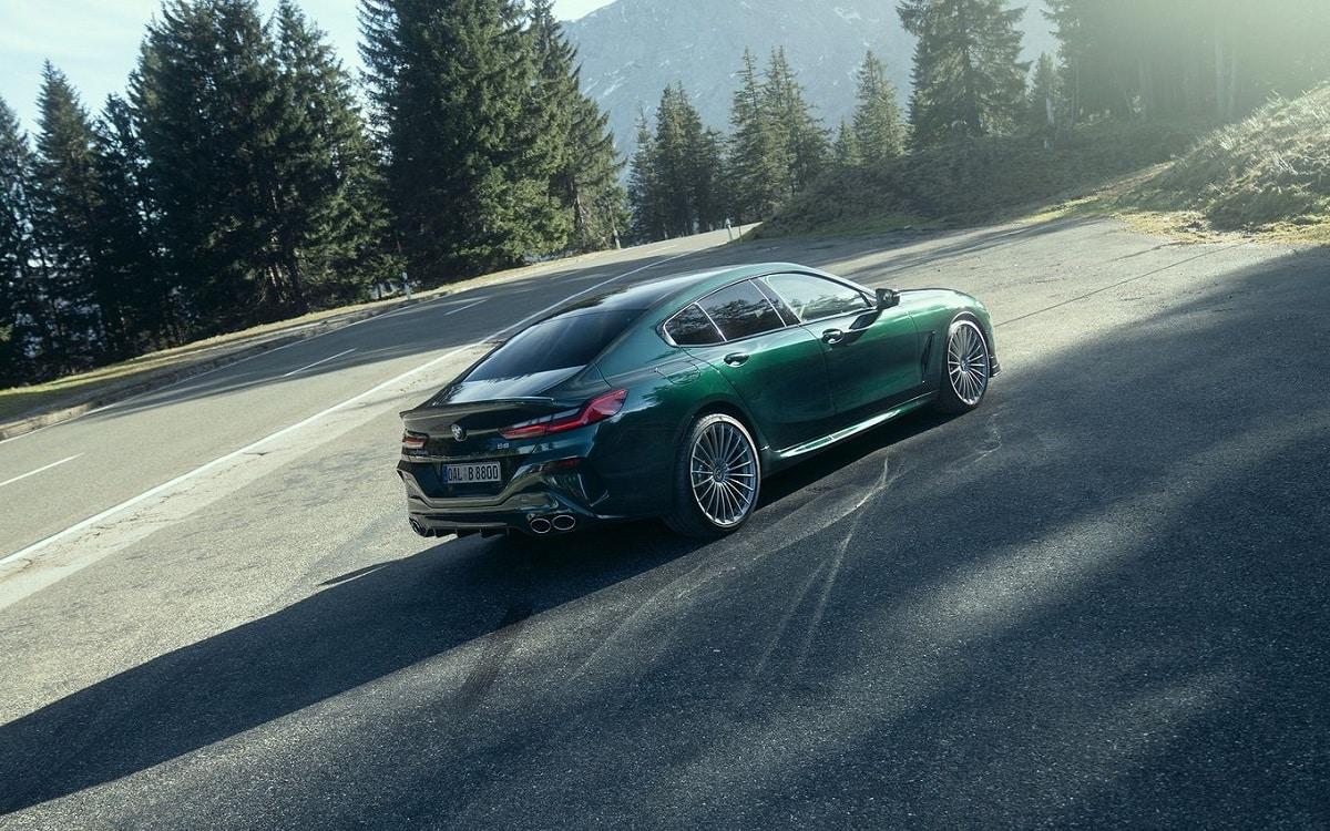 Alpina B8 Gran Coupe Heck