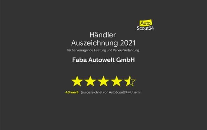Auszeichnung AutoScout24