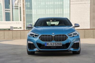 BMW 2er Gran Coupé Front mit Kühlergrill