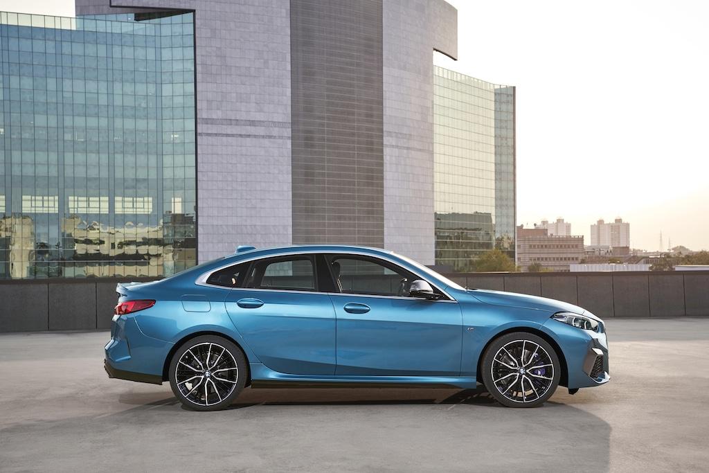 BMW 2er Gran Coupé Silhouette