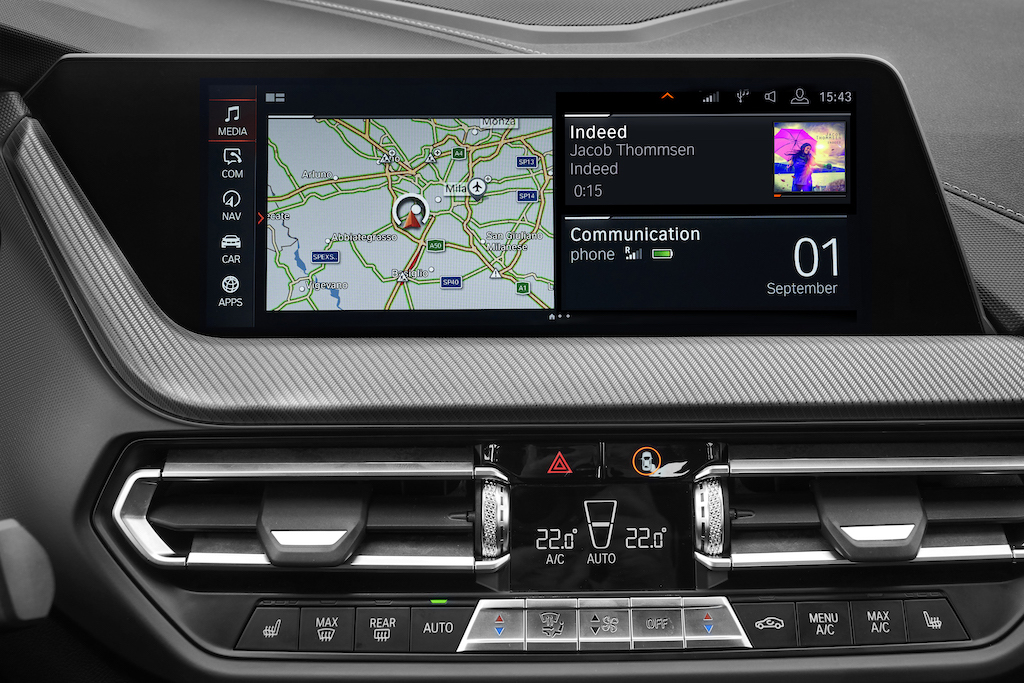 BMW 2er Gran Coupé Navigation und Entertainment