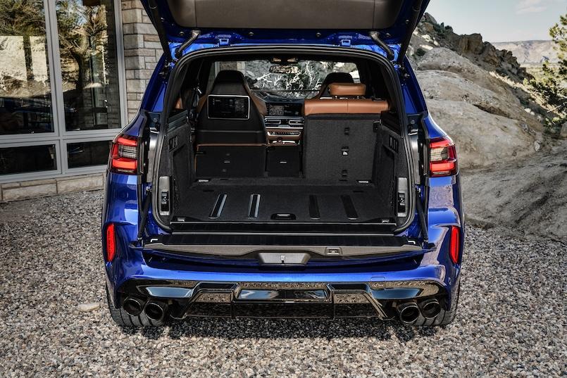 BMW X5 M Competition Kofferraum