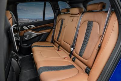 BMW X5 M Competition Rücksitzbank