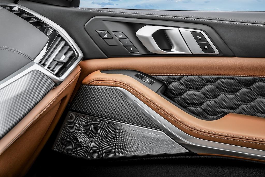 BMW X5 M Interior Details