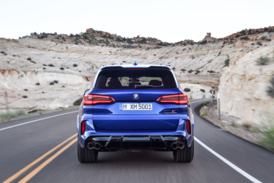 BMW X5 M Competition Heckansicht