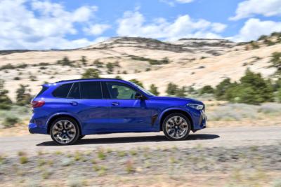 BMW X5 M Competition Seitenansicht