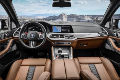 BMW X5 M Competition Interior
