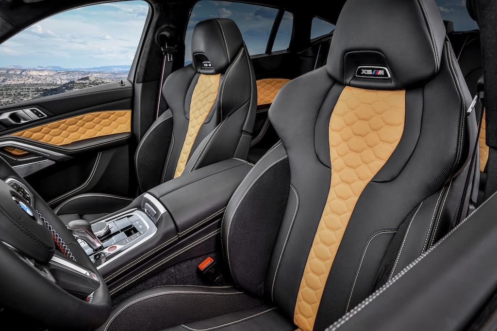 BMW X6 M Interior Sportsitze