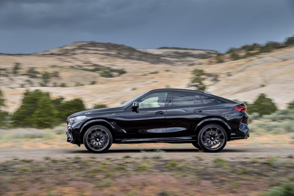 BMW X6 M Competition Seitenansicht