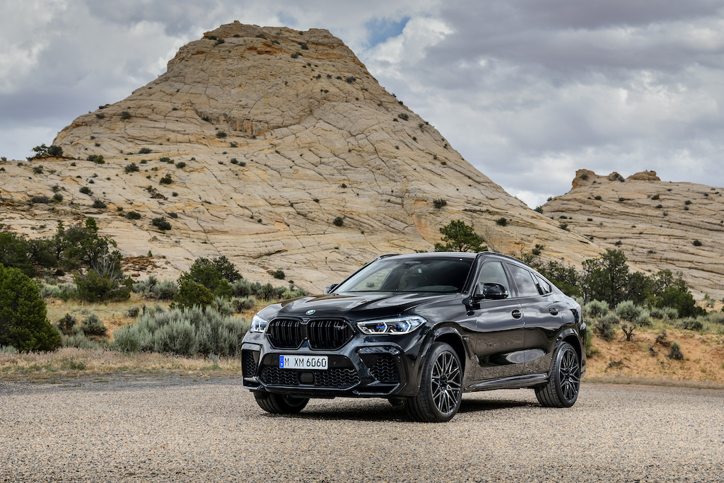BMW X6 M Competition schwarz