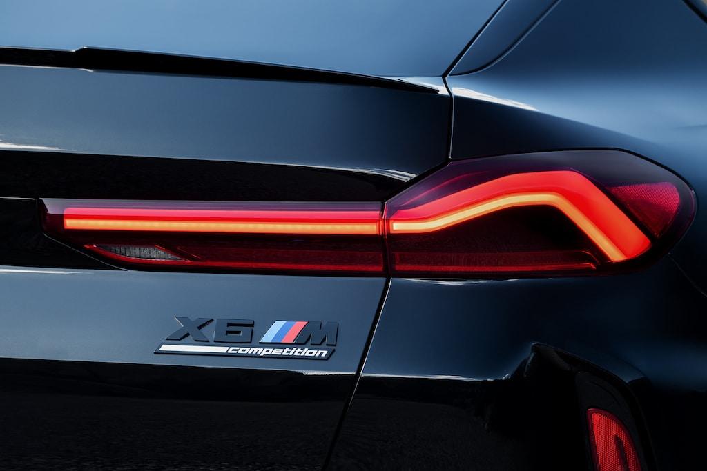 BMW X6 M Competition Schriftzug