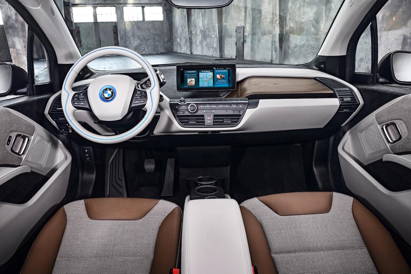 BMW i3 Intrior Details