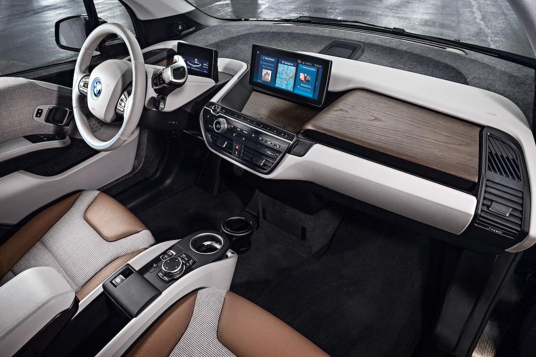 BMW i3 Intrior mit Holz