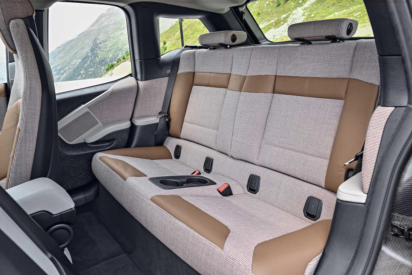BMW i3 Rücksitzbank