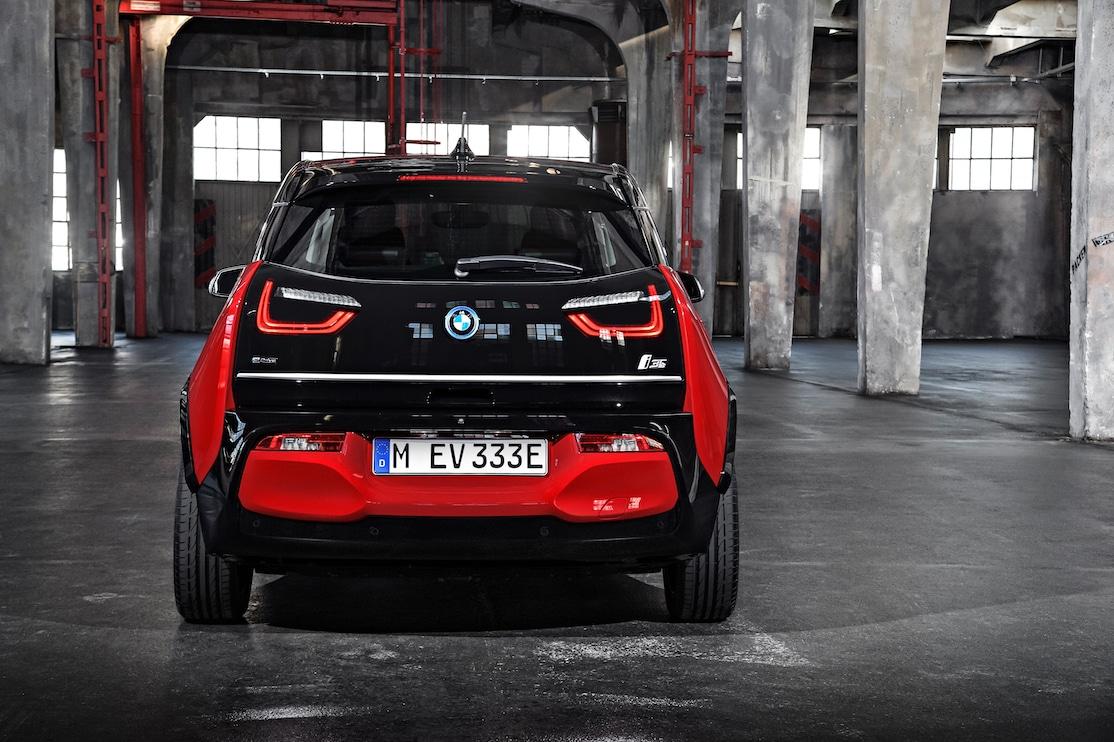 BMW i3s Heck