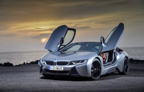 BMW i8 Coupé Türen