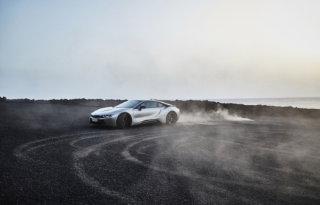 BMW i8 Coupé Drifting