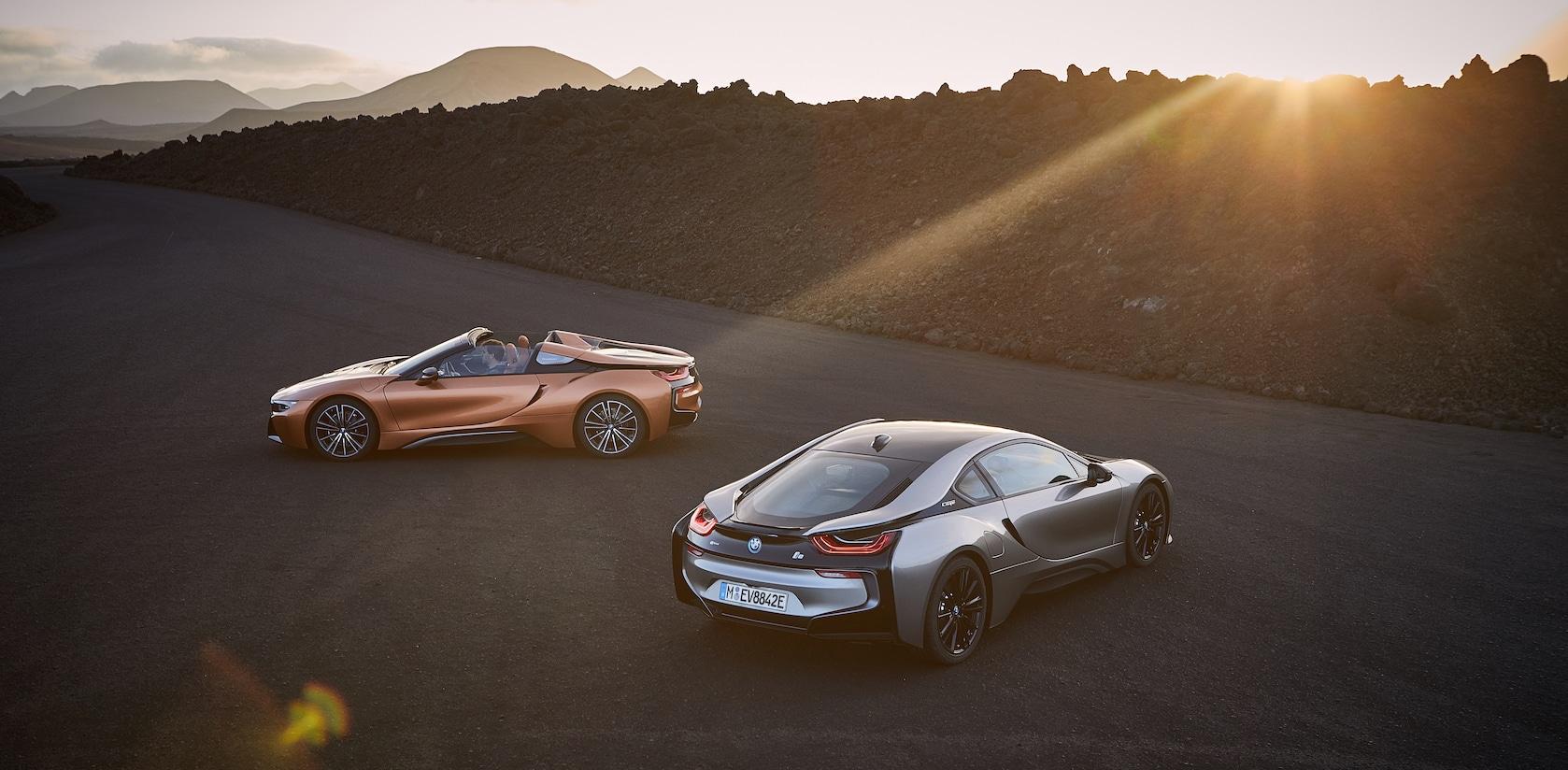 BMW i8 Cabriolet und Roadster
