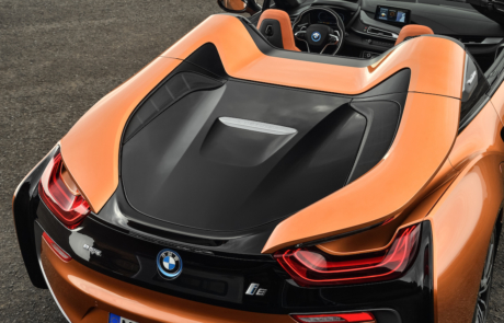 BMW i8 Roadster Details
