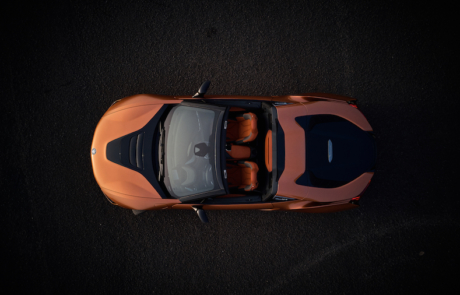 BMW i8 Roadster - Top-Down