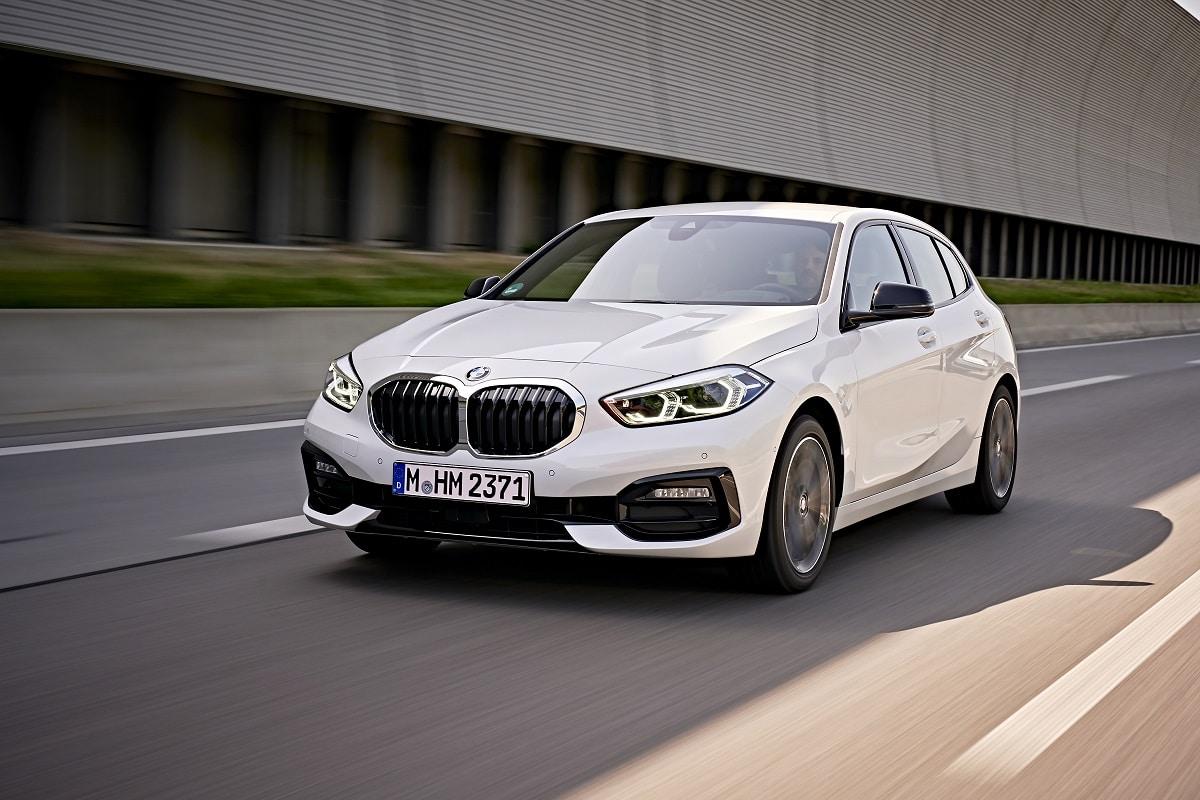 BMW 118d Frontansicht