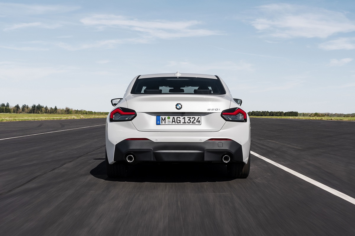 BMW 220i Coupe Heck