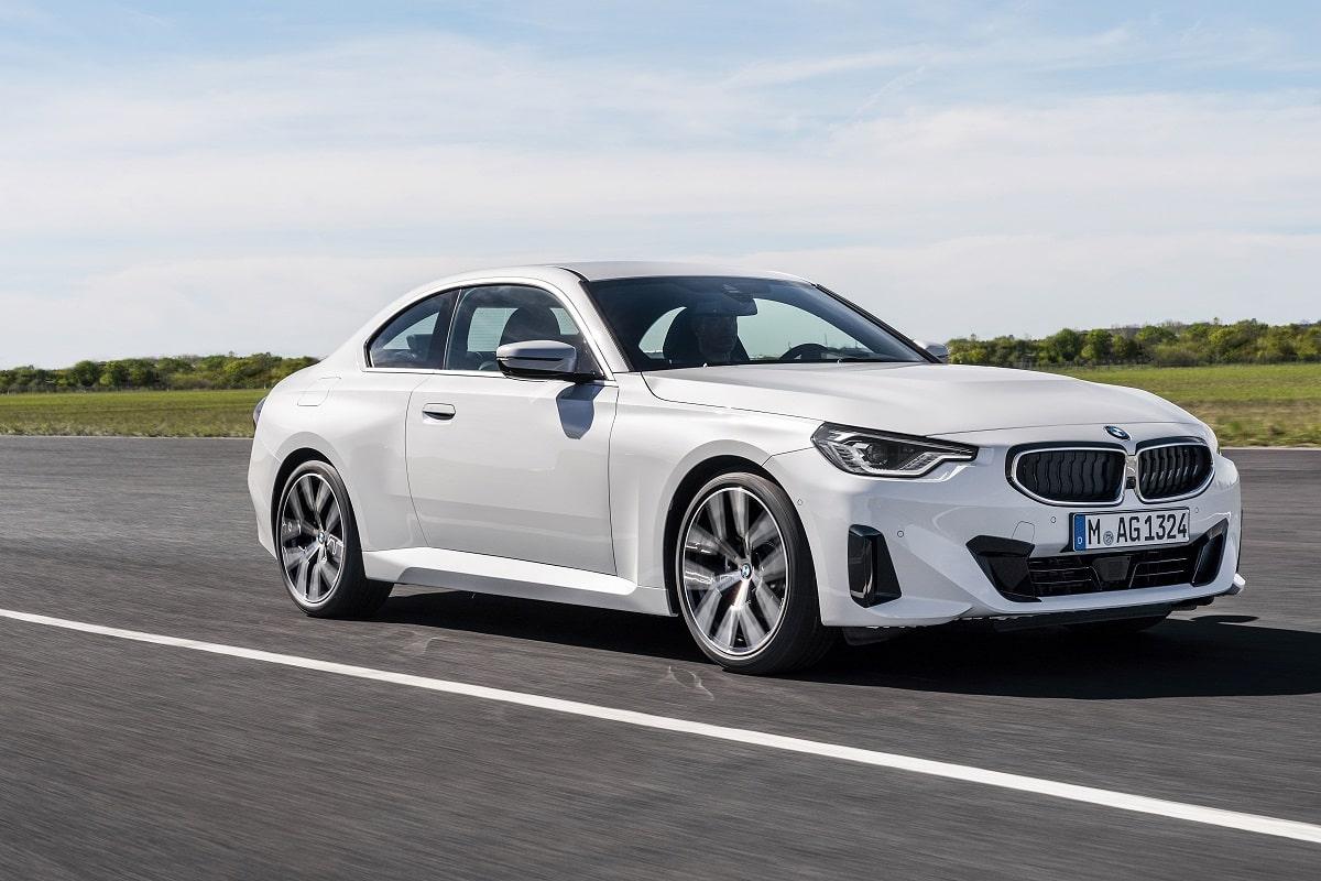 BMW 220i Coupe Seitenansicht