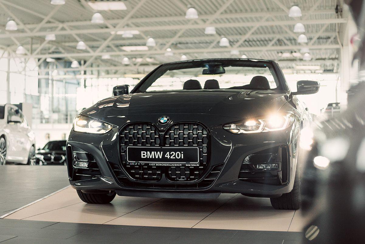 BMW 420i Cabrio Kachel