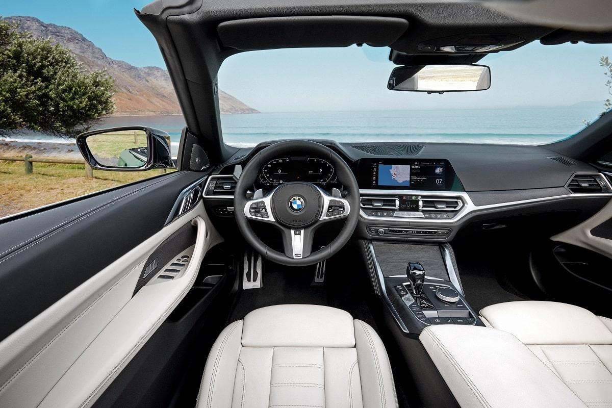 BMW 4er Cabrio Interieur
