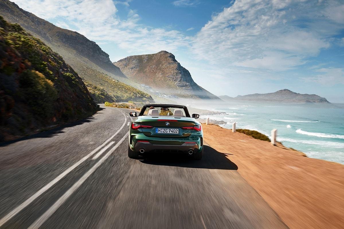 Heck BMW 4er Cabrio