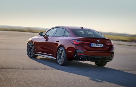 BMW 4er Gran Coupe Heckansicht