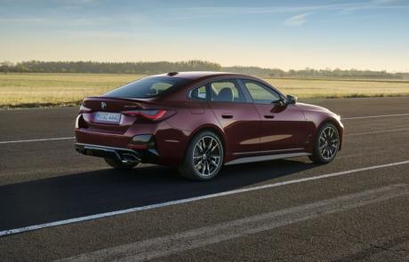 BMW 4er Gran Coupe Seitenansicht