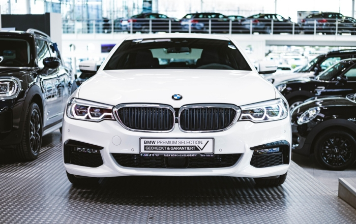 BMW 530e Frontansicht